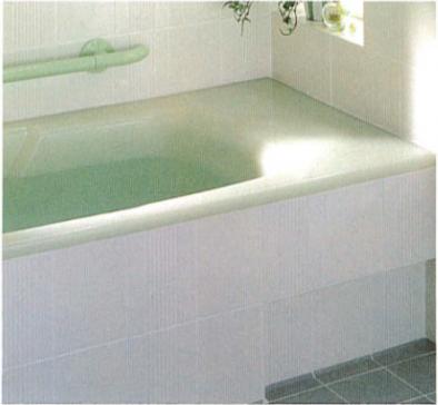 腰掛けてから入浴できる移乗スペース