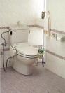 トイレであることを忘れそう。そんな居住性の高い空間づくりをしてみては。