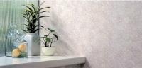 抗菌・消臭効果もある機能性抜群の壁紙。他の部屋とのバランスを考えてデザインを選んで。